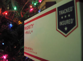 Our gourmet cookie gifts are delivered by the USPS.